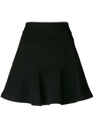Kenzo Flared Mini Skirt - Farfetch