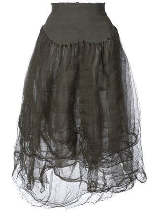 Marc Le Bihan High-waisted Tulle Skirt - Farfetch