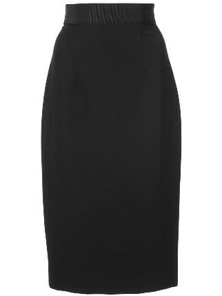 Milly Classic Pencil Skirt - Farfetch