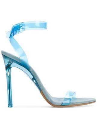 Yeezy Season 7 PVC Ankle Strap Sandals - Farfetch