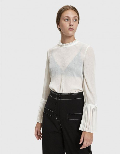 Jeanne Sheer Blouse