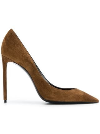 Saint Laurent Pointed Pumps - Farfetch