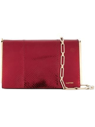 Lanvin Textured Clutch Bag - Farfetch
