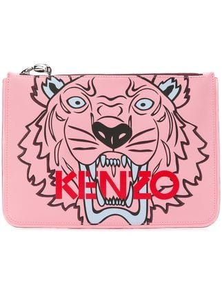 Kenzo A4 Tiger Clutch - Farfetch