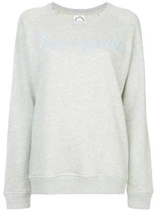 The Upside Logo Embroidered Sweatshirt - Farfetch