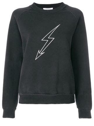 Givenchy Lightening Bolt Sweatshirt - Farfetch