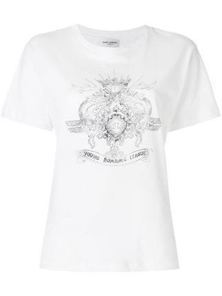 Saint Laurent Young Romance League T-shirt - Farfetch