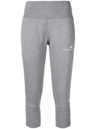 Adidas By Stella Mccartney Logo Embroidered Track Pants - Farfetch