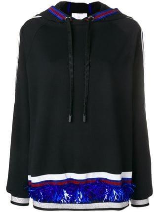 No Ka\' Oi Stripe And Sequin Detail Hoodie - Farfetch
