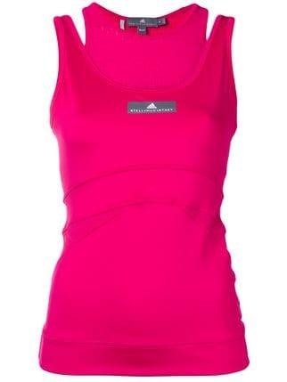 Adidas By Stella Mccartney Layered Tank Top - Farfetch