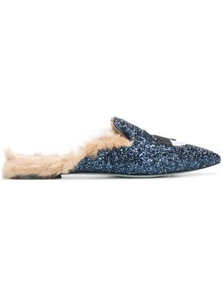 Chiara Ferragni Flirting Slip-on Mules - Farfetch