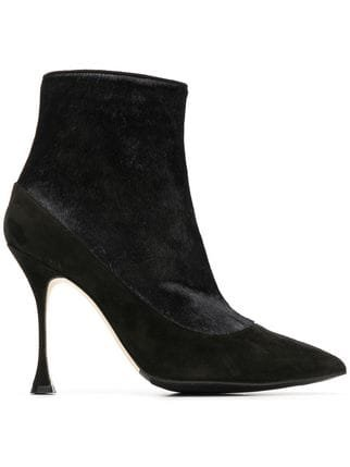 Manolo Blahnik High Ankle Boots  - Farfetch