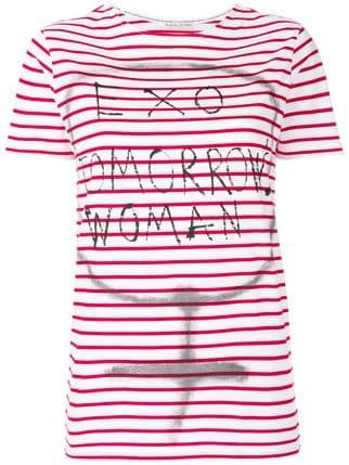 Each X Other Striped T-shirt  - Farfetch