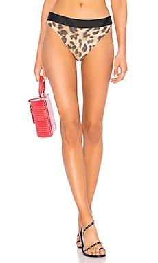 High Waist Teeny Bikini Bottom                                             PILYQ