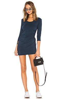 Modal Jersey Ruched Mini Dress                                             Bobi