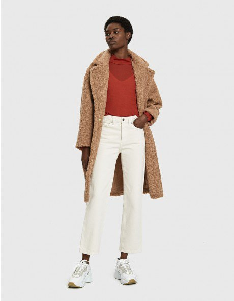 Roma Faux Shearling Coat