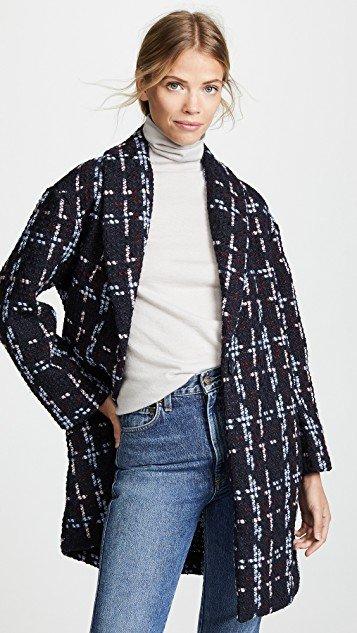 Valmont Oversized Cocoon Coat