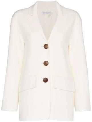 Rejina Pyo Collared Wool Blazer - Farfetch