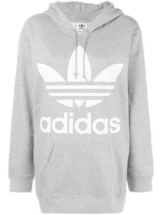 Adidas Oversized Logo Hoodie - Farfetch