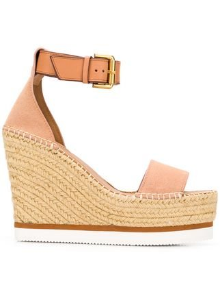 See By Chloé Glyn Wedge Espadrille - Farfetch