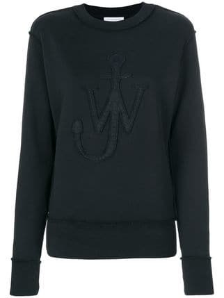 JW Anderson Logo Patch Sweatshirt - Farfetch