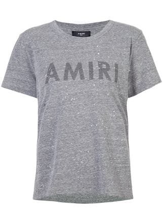 Amiri Painted Logo T-shirt - Farfetch
