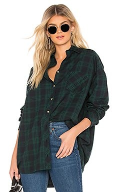 Audriana Oversized Flannel Top                                             by the way.