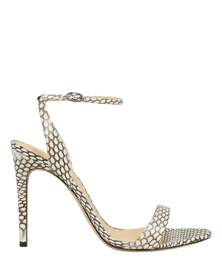 Willow Snake Print Sandals