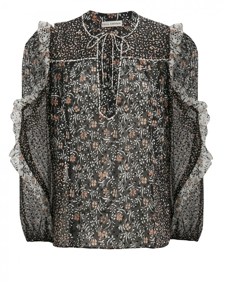 Norma Silk Georgette Blouse