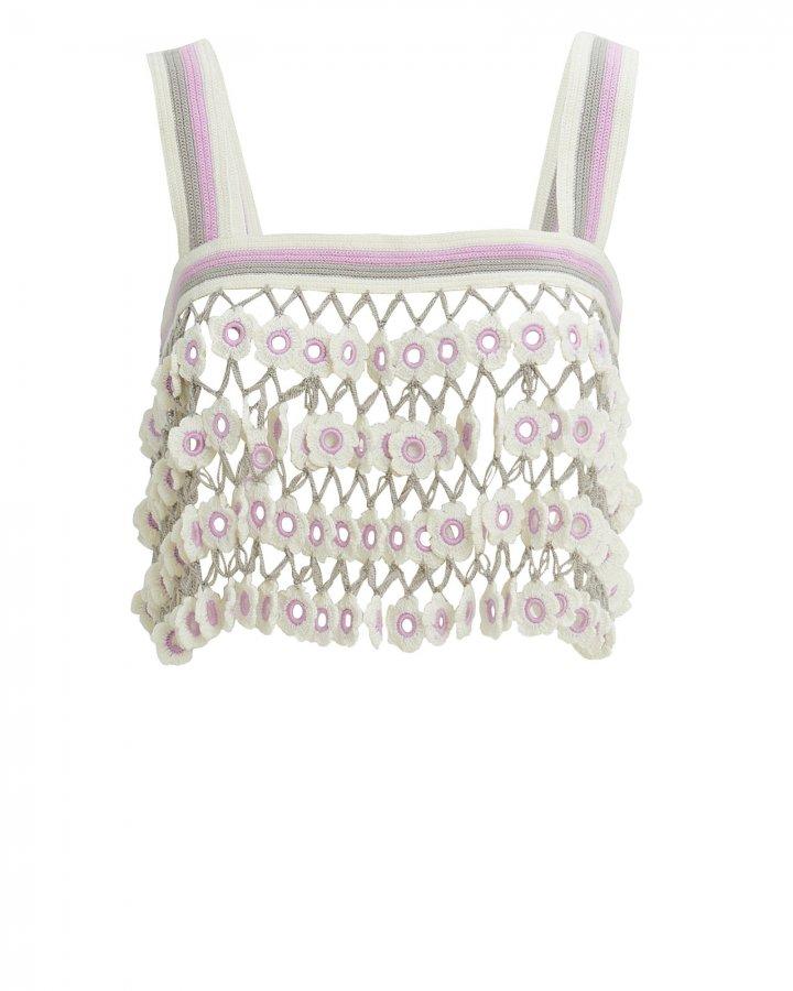 Madonna Crochet Crop Top