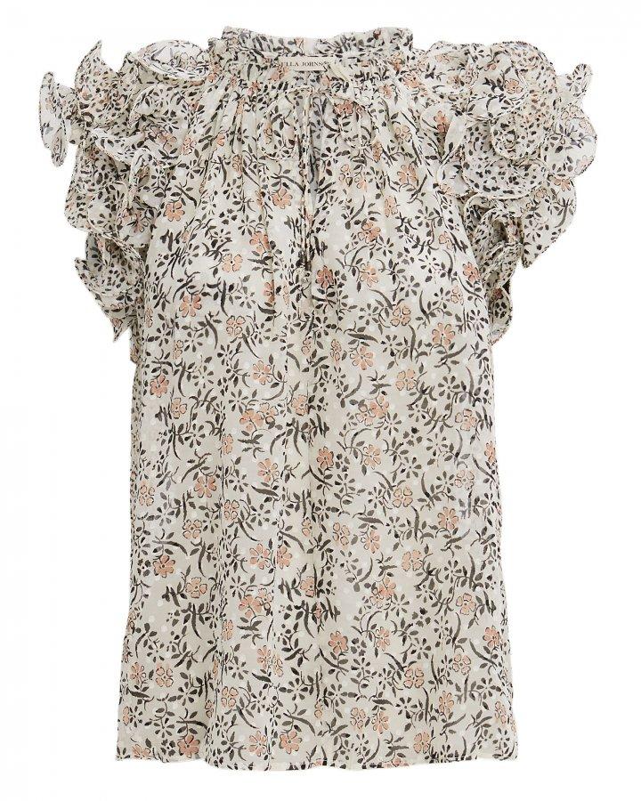 Tavi Pearl Floral Print Blouse