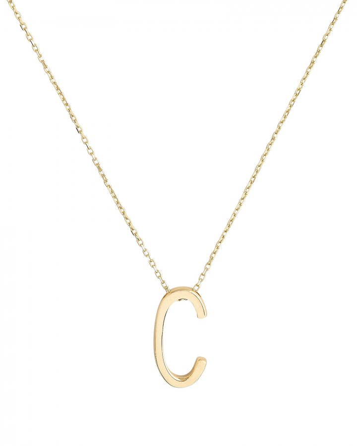 C Alphabet Necklace