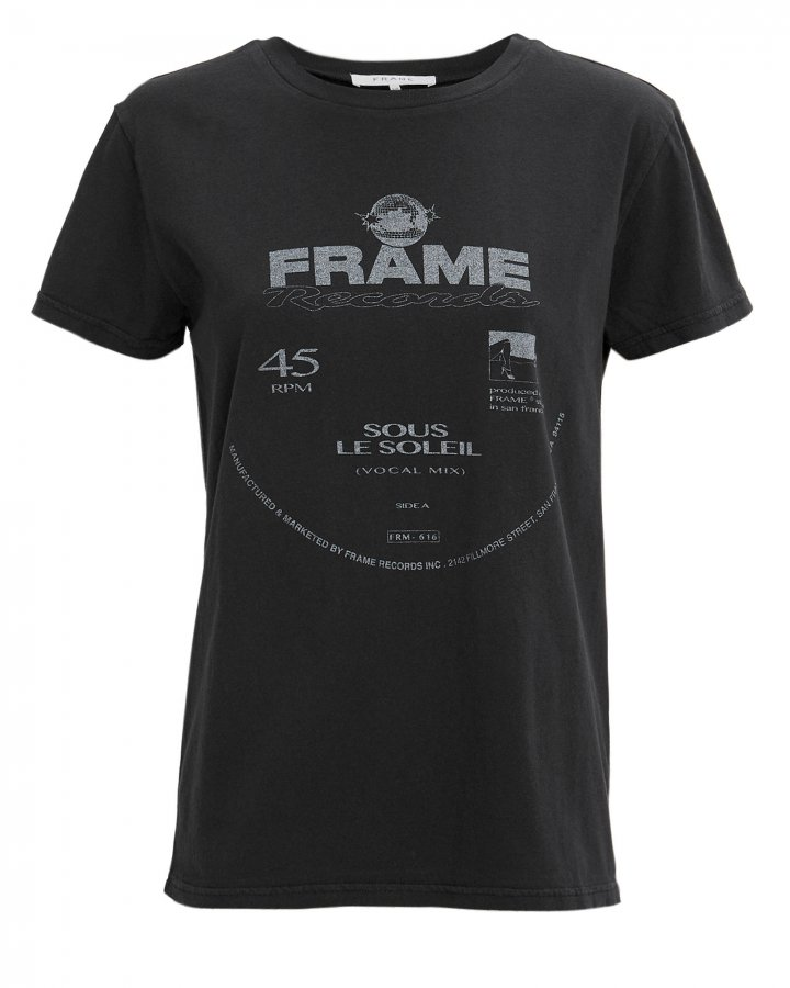 Washed Noir Logo T-Shirt