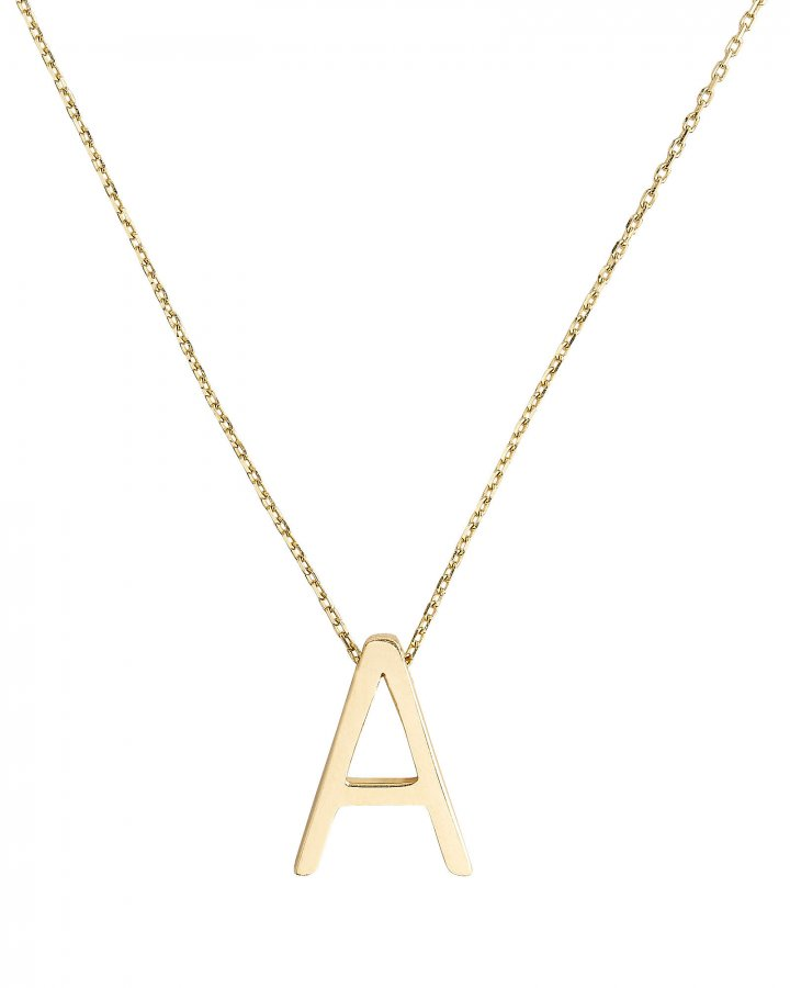 A Alphabet Necklace