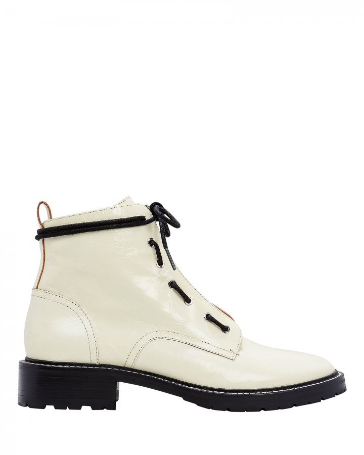 Cannon White Boots