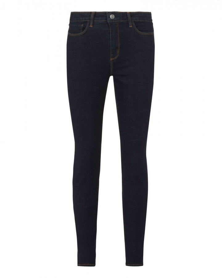 Margot Midnight High-Rise Ankle Skinny Jeans
