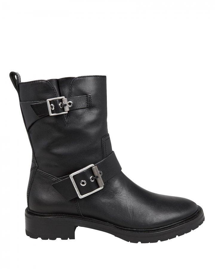Cannon Black Moto Boots