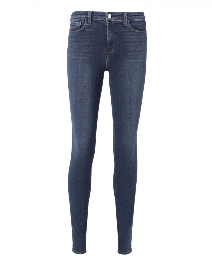 Marguerite Dark Vintage High-Rise Skinny Jeans