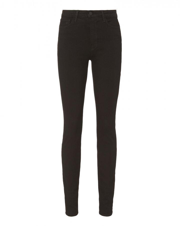 Marguerite Noir High-Rise Skinny Jeans