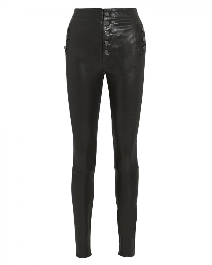 Natasha Black Skinny Pants
