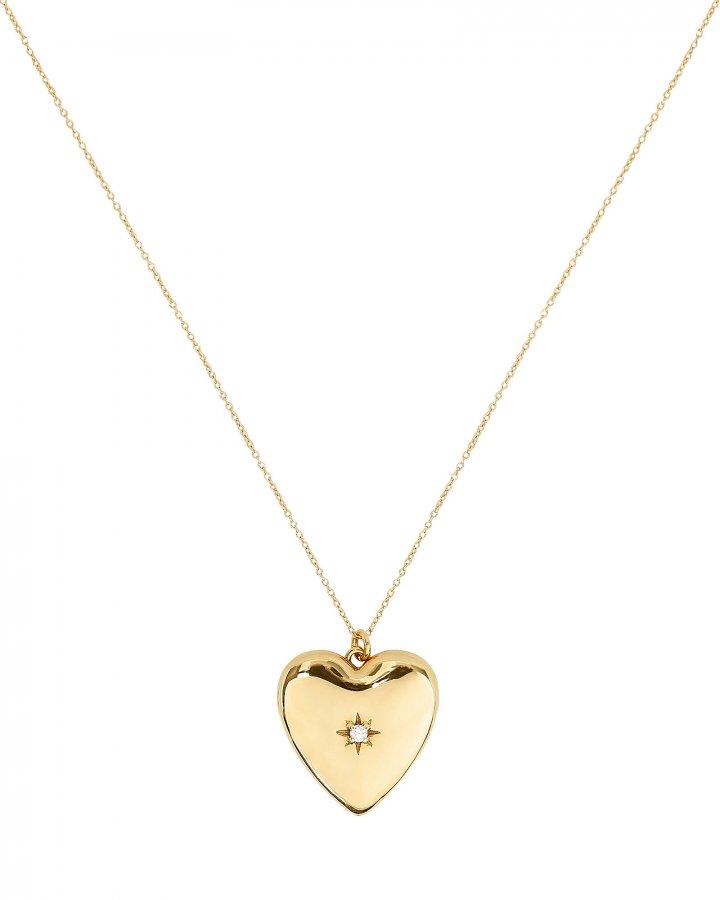 Anouk Heart Locket Necklace