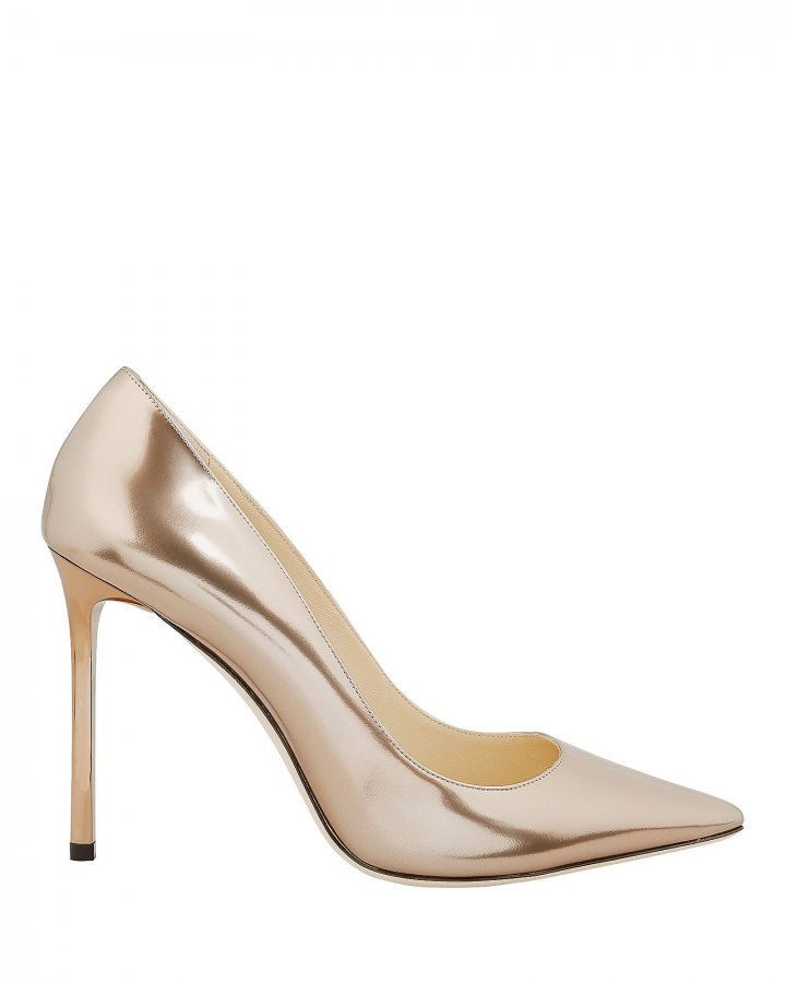 Romy Rose Gold Pumps