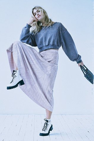 High Holiday Maxi Skirt