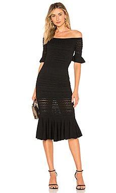 Sheira Midi Dress                                             Alexis