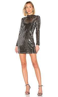 Sequin Mini Dress                                             Tanya Taylor