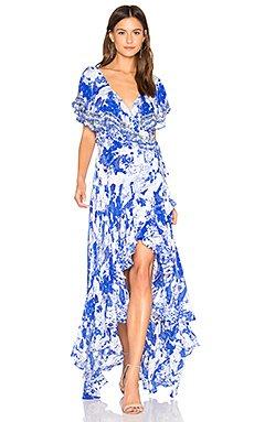 Frill Sleeve Dress                                             Camilla
