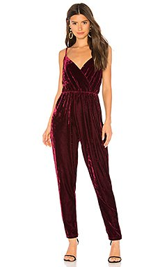 Cameo Velvet Jumpsuit                                             cupcakes and cashmere