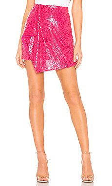 Selma Sequin Skirt                                             About Us