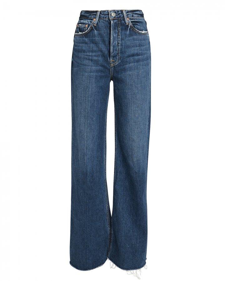Carla Dark Blue Flare Jeans
