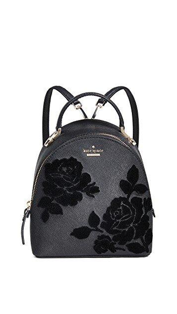 Cameron Street Flock Roses Binx Backpack